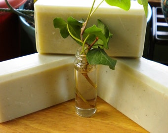 Acne Oily  Skin TeaTree  Peppermint  French Clay  Soap  5 oz Bar