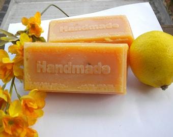 Handmade Lemon  Lemon Essential Oil Soap 1 Bar 5 ounces