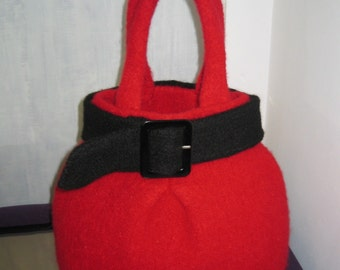 "The ""Skirt"" Bag PDF Knitting Pattern"