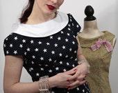 1960s inspired sheath dress