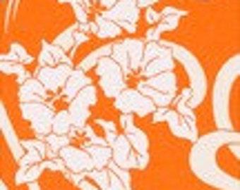 Amy Butler Graceful Vine Orange Home Dec Weight Cotton Fabric