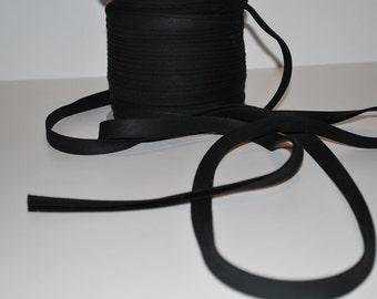 """5 yards of bias binding/ tape 1/2"""" fold Black"""