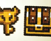 Zelda Master Key and Chest Magnet Set