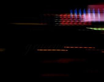 LIGHTS ABSTRACT 002 - 8x10 Fine Art Photograph