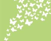 Flutter of Butterflies 8x10 Print