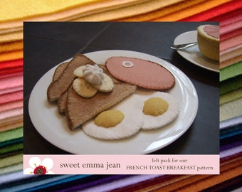 Felt Pack to make our French Toast Breakfast
