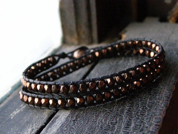 Cocoa Wrap Bracelet