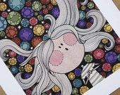 Lucy In The Sky With Diamonds - A4 - Art Print
