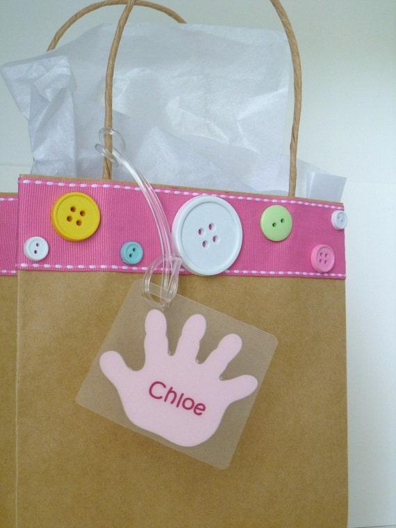 items similar to diaper bag tag baby bag tag baby diaper bag tag kids bag tag baby name tag baby. Black Bedroom Furniture Sets. Home Design Ideas