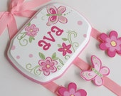 Hand Painted and Personalized Hair Bow Holder (11)