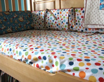 Custom Crib Sheet Toddler Sheet