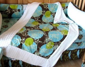 Custom Crib Blanket