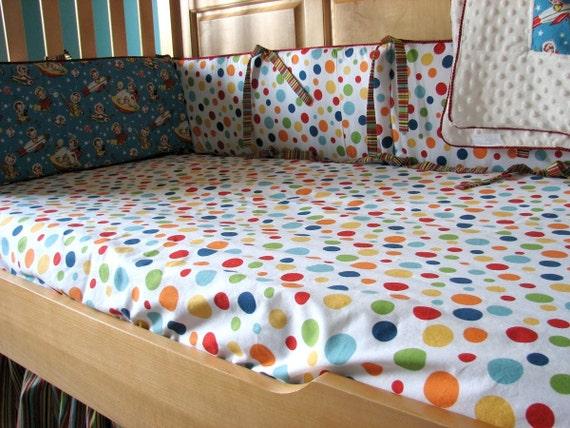 Custom Crib Sheet Toddler Sheet