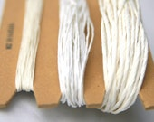 Whites Shades - 3 x 11 Yards of Paper Yarn