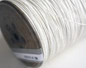Paper Yarn - Strong White Paper Twine on a Vintage Bobbin - DIY, Knit, Crochet, Craft - Handwash