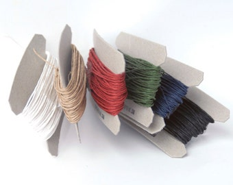 Paper Twine - Set of 6 Classical Colors (6 x 11 yards)