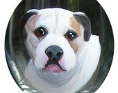 Custom Hand Painted Wine Glass ~ Dog Wine Glass ~ Cat Wine Glass ~ Custom Gift ~ February Birthday