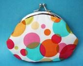 bubbles - small frame purse