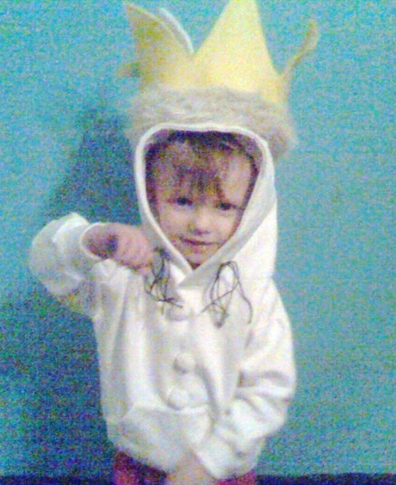 Where the wild things are Max hoodie costume or play