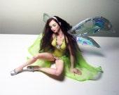 Niada- OOAK polymer clay fairy, fae, faerie, doll sculpture by Amanda Day