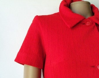 Vintage Red Shirtdress