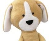 Dog Sewing Pattern Toy Plushie PDF
