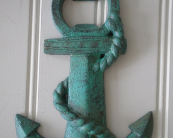 Anchor Bottle Opener - Cast Iron