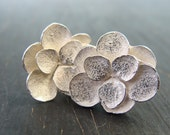 Lily Pad Succulent Posts -- Nature Cast -- Botanical Jewelry -- Ready to Ship