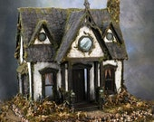 Ravenwing Cottage Witch's Dollhouse    Custom Order For the Seriously Wicked