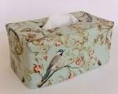 Bird Rectangle Reversible Tissue Box Cover