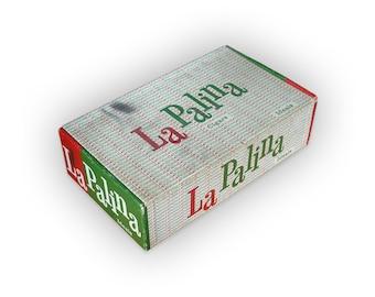 """Paul Rand La Palina """"Ideals"""" cigar box design, c.1953."""