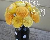 Custom Order for Mohammed -- Eleven Floral Arrangements of a Dozen Flowers