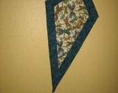 Art Quilt Kite, Dragonflies In Flight Wall Hanging