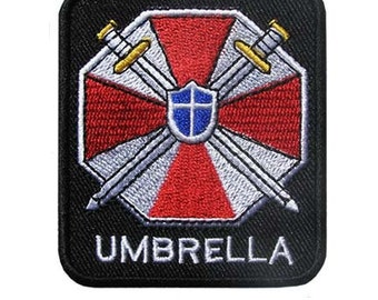 Free shipping Umbrella Corp Resident Evil Patch Badge