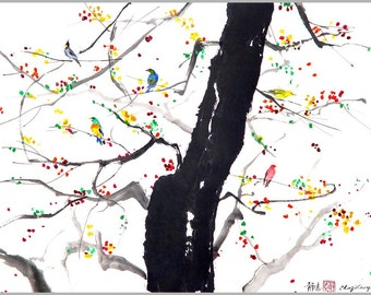 Singing Tree I, 11 x 14
