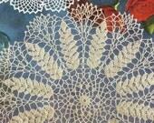 Ripe Wheat Doily - Instant Download Digital File - Vintage Crochet Pattern - Pattern 6