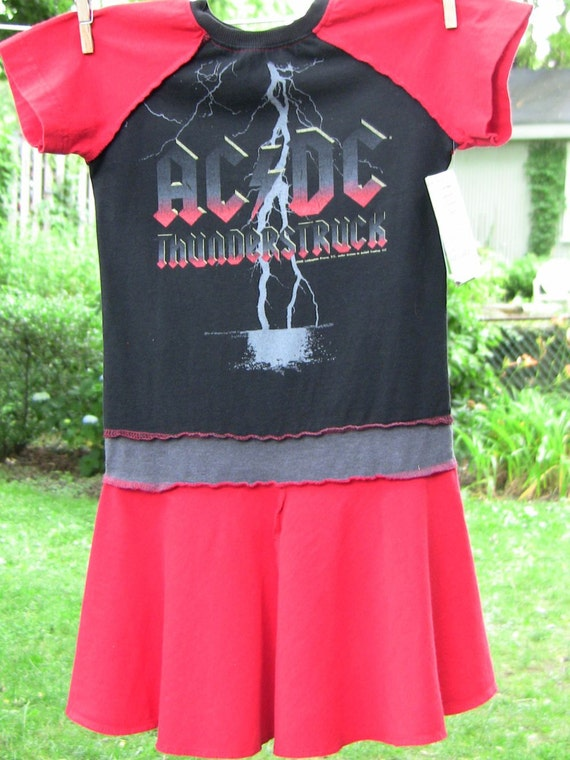 Recycled ACDC Dress 6/7