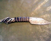 Hand forged knife - Basket Case