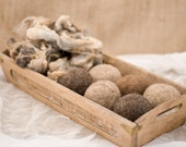 Wool Dryer Balls 3 pack - Local, Undyed, Natural and Eco Friendly