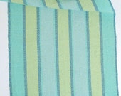 beach colors hand towel, lime weft