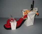 """Shoe Sculpture - """" Wok - In"""""""