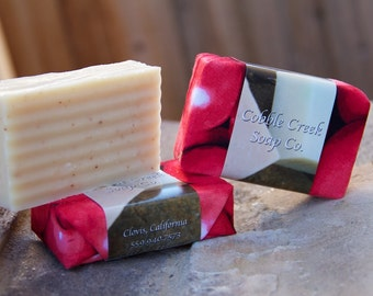 Applejack and Orange Peel Handmade Soap