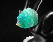 Teal Sugar - Glitter - Sprinkles - Frosting  - Ring