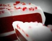 Red Velvet Cake - Soap Slice