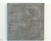 Umbra minimalist grey concrete painting original on canvas