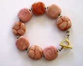 Beaded Bracelet, Kazuri Bracelet, Fair Trade, Ceramic Jewelry