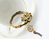 SALE-Handmade Vintage Jewellery - Steampunk Jewelry - Vintage Bracelet-Upcycled Bracelet- Bespoke Bracelet- Wedding Gift Jewelry