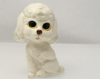 Lefton Figurine Poodle Dog - Ceramic H6862