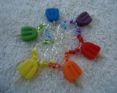 Popcicle Wine Charms Set of 6