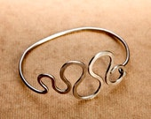 Curves Bicycle Spoke Bracelet